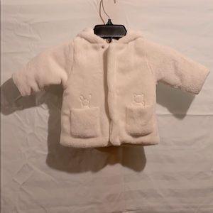 Kids Emile Et Rose 6 Months Soft Fleece Coat